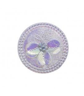 Botón de Cristal - 8cm