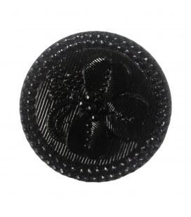 Botón de Cristal - 10cm - Color negro
