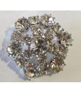 Botón de Cristal - 2,5cm - (BOLSA DE 6 UDS.)
