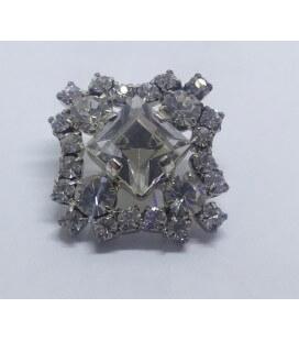 Botón de Cristal - 1,8cm - (BOLSA DE 6 UDS.)