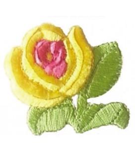 Pegatina Termoadhesiva Rosa - 6 unidades - 3 Colores