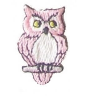 Owl Thermoadhesive Sticker - 12 units - 4 Colors