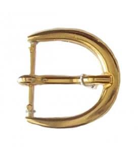 Hebilla Metálica Color Oro - Bolsa de 6 Unidades - 3 Medidas