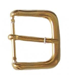 Hebilla Metálica Color Oro - Bolsa de 6 Unidades