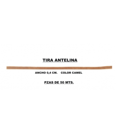 Antelina Strip (50 meters) - Camel Color
