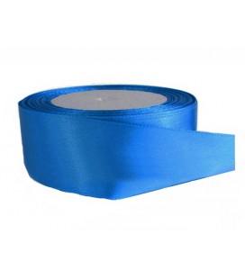 Double Side Satinband - 39mm - 25 Meter Rolle - Blaue Farbe