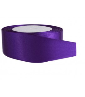 Double Side Satin Ribbon - 39mm - Roll 25 meters - Color Lilac