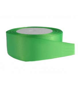 Satin Double Face Tape - 39mm - Roll 25 meters - Color Green Andalusia