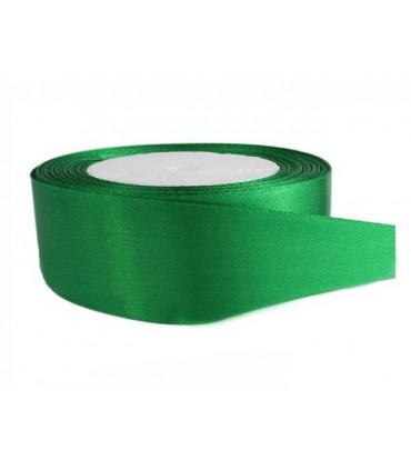 Double Side Satinband - 39mm - Rolle 25 Meter - Smaragdgrün