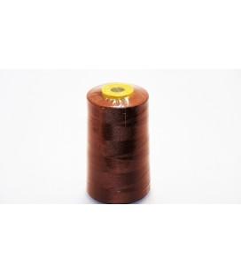 Fil de polyester 5000 yd 40/2 - brun (12 pièces)