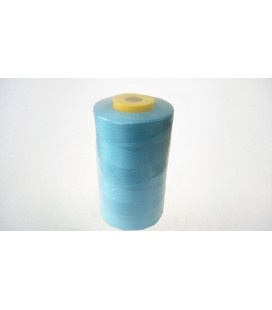 Polyester thread 5000 yd 40/2 - Turquoise (12 pcs.)