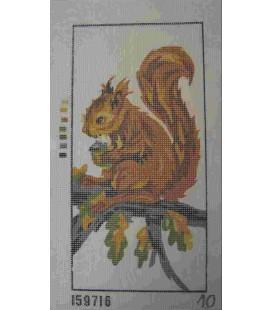 Cañamazo Tapisserie - Nr. 10 - 15 cm x 30 cm