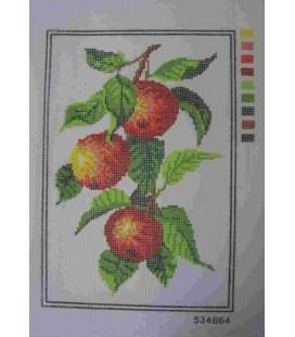 Cañamazo Tapestry - Nº 24 - 22cm x 32cm