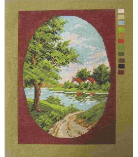 Cañamazo Tapestry - Nº 28 - 21cm x 30cm