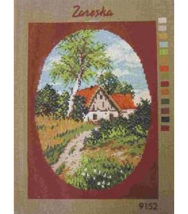 Cañamazo Tapestry - Nº 29 - 24cm x 33cm