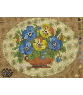 Cañamazo Tapestry - Nº 40 - 22cm x 16cm