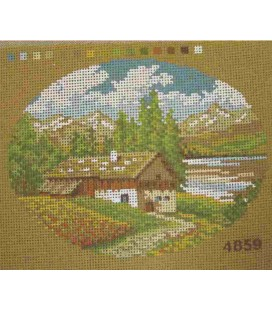 Cañamazo Tapestry - Nº 44 - 24cm x 18cm