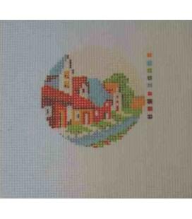 Cañamazo Tapestry - Nº 50 - 9 cm diameter