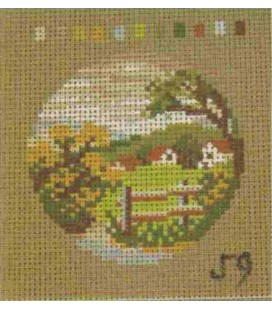 Cañamazo Tapestry - Nº 59 - 9cm x 9cm