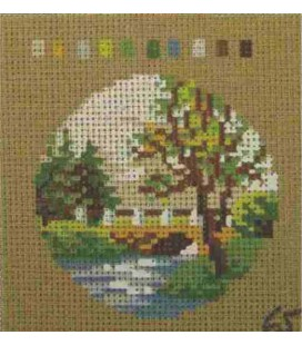 Cañamazo Tapestry - Nº 65 - 9cm x 9cm