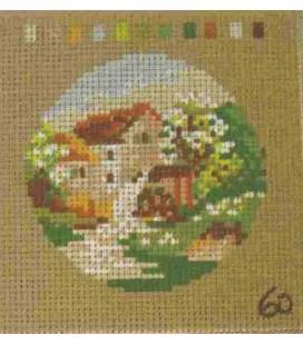 Cañamazo Tapestry - Nº 60 - 11cm x 11cm