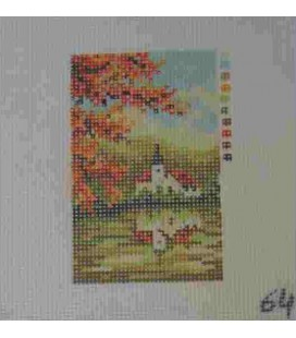 Cañamazo Tapestry - Nº 64 - 9cm x 13cm