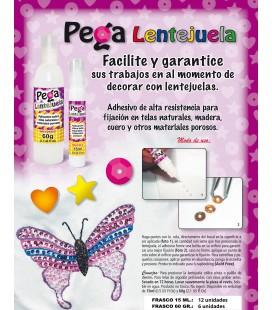 Pega Lentejuela Glitter (2 tamaños)