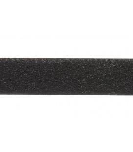 Loop Hook de Coser 2cm - Color Negro UNA CARA (LISA)