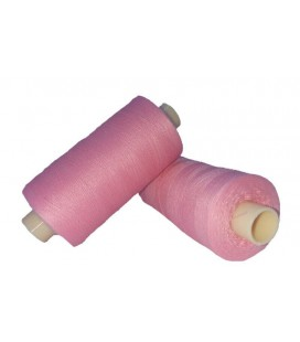 Polyester thread 1000m - Box of 6 pcs. - Color Rosa Palo
