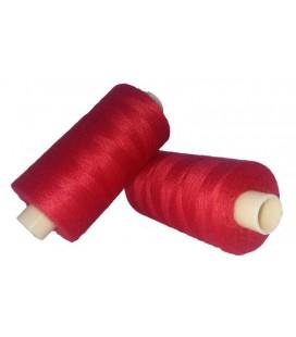 Hilo Poliester 1000m - Caja de 6 uds. - Color Rojo