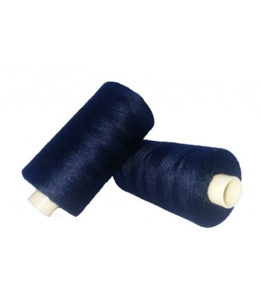 Hilo Poliester 1000m - Caja de 6 uds. - Color Azul Marino