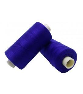 Polyester thread 1000m - Box of 6 pcs. - Electric blue