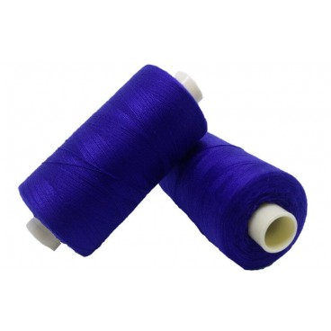 Hilo Poliester 1000m - Caja de 6 uds. - Azul Eléctrico