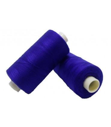 Hilo Poliester 1000m - Caja de 6 uds. - Azul Electrico