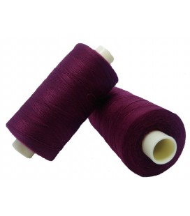 Polyester thread 1000m - Box of 6 pcs. - Garnet