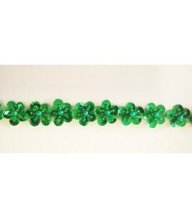 Pasamanería abalorio ST-29 Color verde