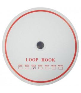 Klettverschluss 2cm - Schwarze Farbe (ROBUSTES GESICHT)