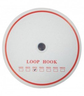 Pack de couture à velcro 24 rouleaux complets (1200 mètres) - Crochet de boucle de marque