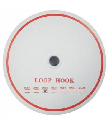 Pack Velcro de Coser 24 Rollos Completos (1200 metros) - Marca Loop Hook