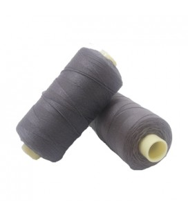 Thread Torzal 380m - Box of 6 pcs. - Dark gray