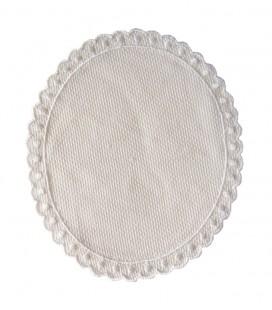 Aplicación de Panama - 13,1 x 15,3 cm - Color beige