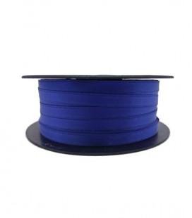 Ruban Satin Double Face - 3/4 (6,5cm) - Rouleau 25 et 100metros - Couleur bleue