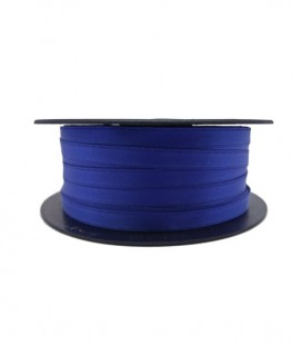 Double Side Satin Ribbon - 3/4 (6,5cm) - Rolle 25 und 100 Meter - Blaue Farbe