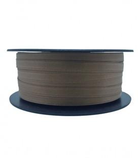 Double Side Satin Ribbon - 3/4 (6,5 cm) - Rolle 25 und 100 Meter - Beige