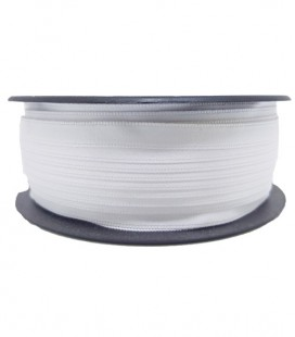 Double Side Satin Ribbon - 3/4 (6.5cm) - Roll 25 and 100metros - White color