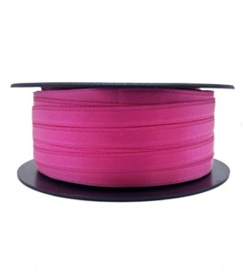 Double Side Satin Ribbon - 3/4 (6.5cm) - Roll 25 and 100metros - Fuchsia color