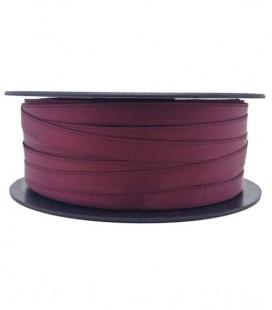 Double Side Satin Ribbon - 3/4 (6,5 cm) - Rolle 25 und 100 Meter - Granatfarbe