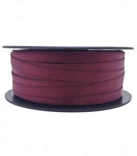 Double Side Satin Ribbon - 3/4 (6,5 cm) - Rolle 25 und 100 Meter - Granatfarbe