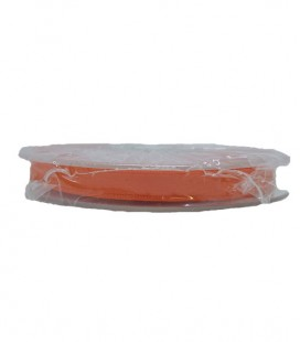 Double Side Satin Ribbon - 3/4 (6.5cm) - Roll 25 and 100metros - Orange color
