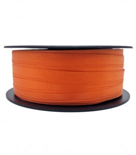 Double Side Satin Ribbon - 3/4 (6,5 cm) - Rolle 25 und 100 Meter - Orange Farbe